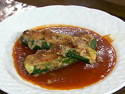Provencal-Style Stuffed Zucchini with Sausage