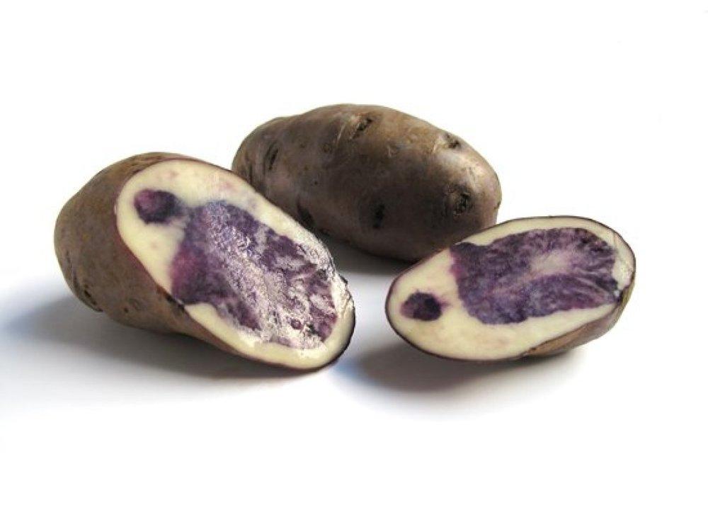 Purple Peruvian Potatoes on Huffington Post