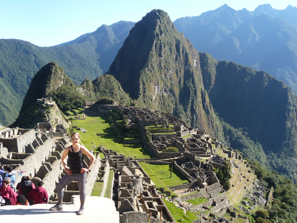 Macchu Picchu, Day 4 of Incan Trail