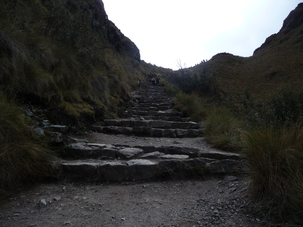 Endless Stairs on the Incan Trail