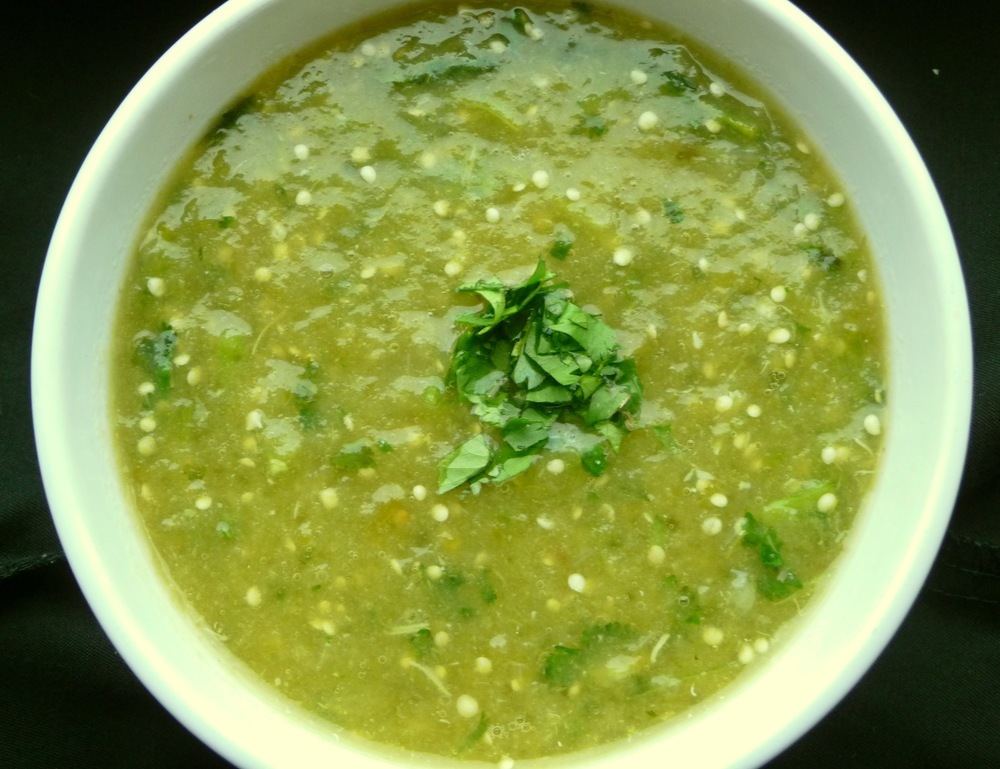 ROASTED TOMATILLO SALSA VERDE