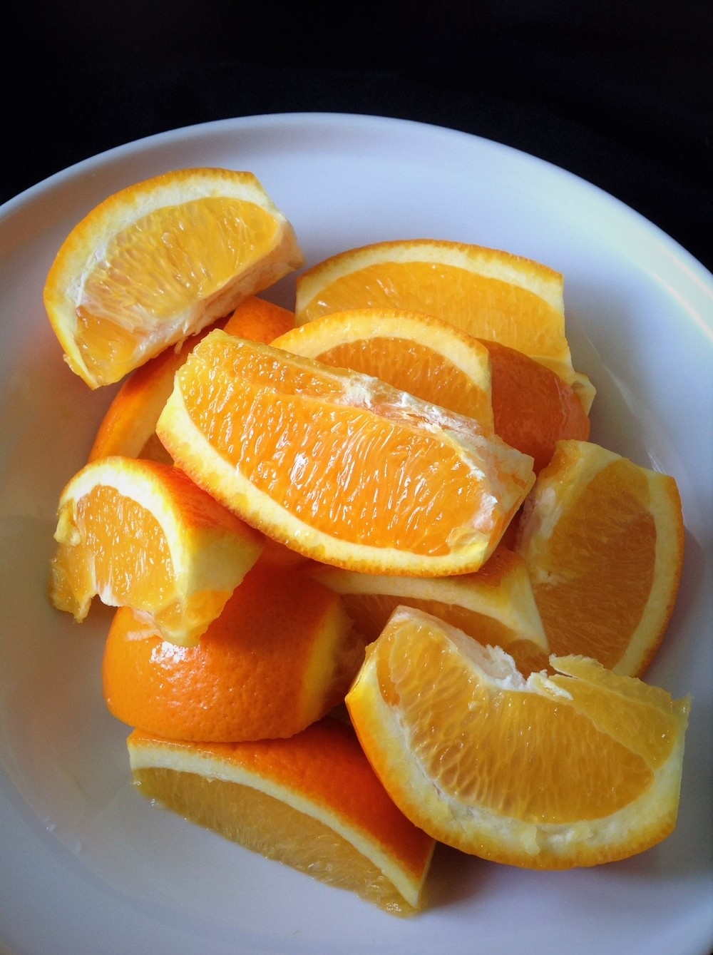Keep in Eye's View: Fresh Orange Slices