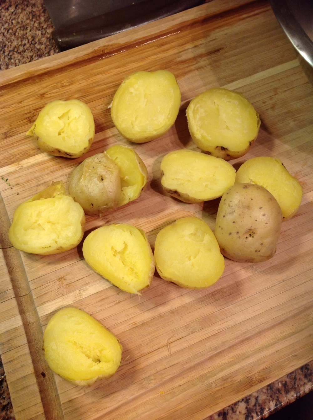 Split Potatoes