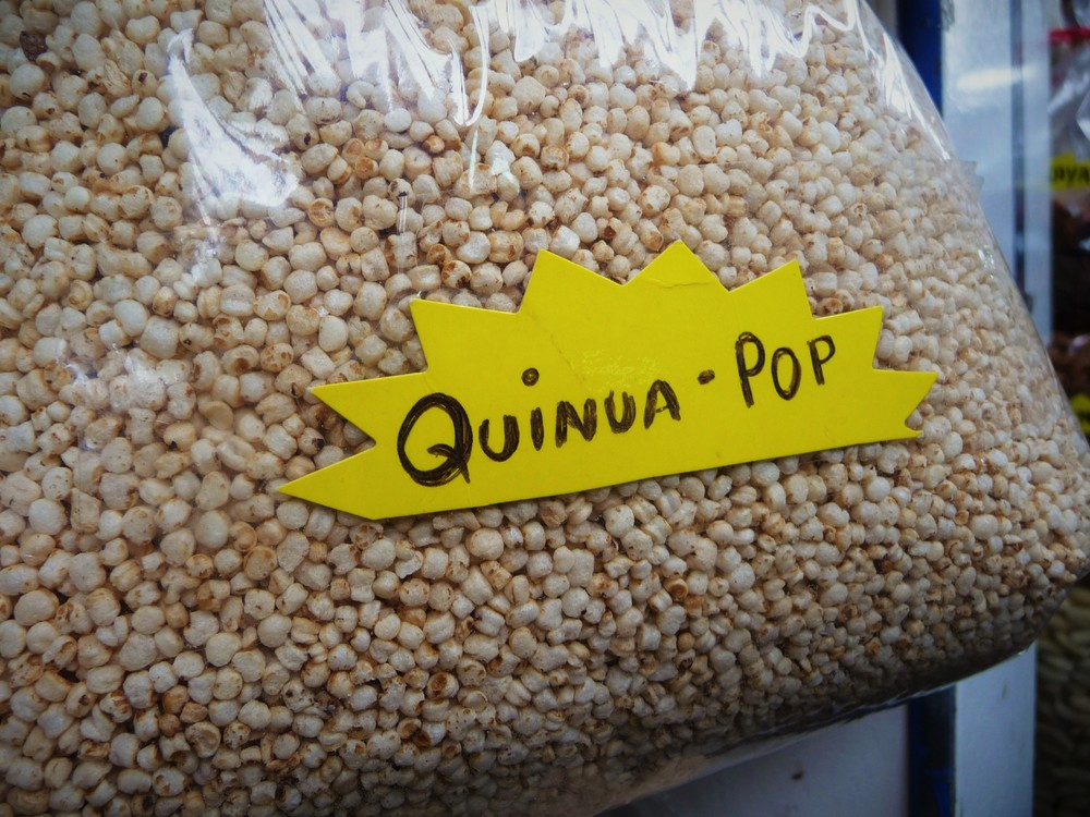 "Quinoa ""Pop"" in Peru"