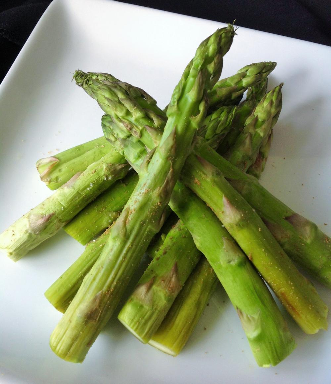 Cumin Dusted Asparagus