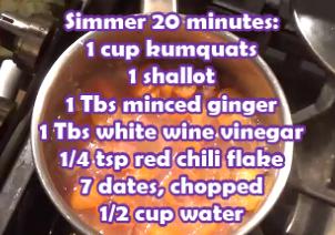 Simmer for Chutney