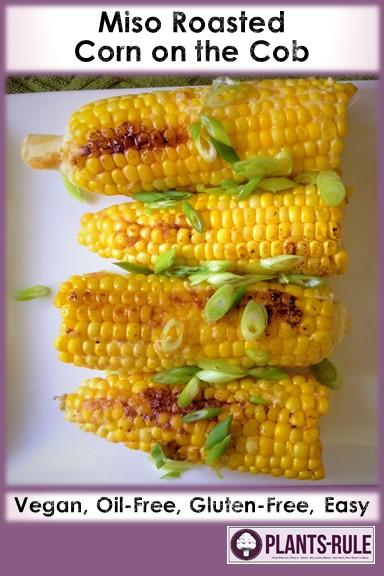 Miso Roasted Corn on the Cob