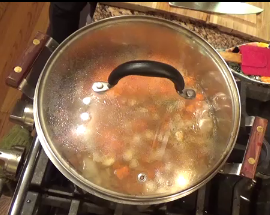 Step Five: Simmer