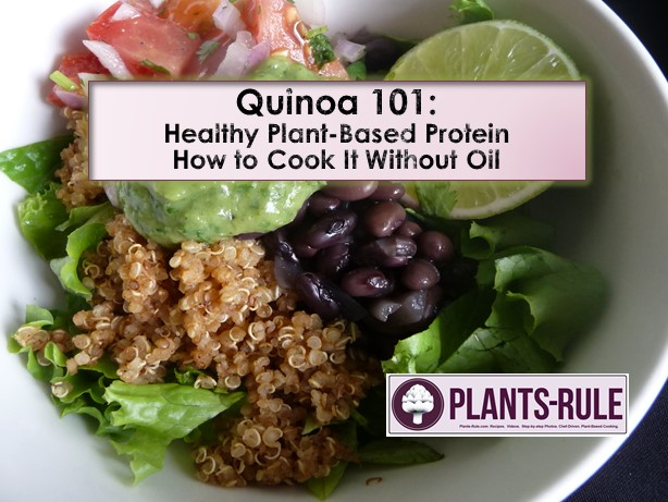 Quinoa 101 - How to Cook healthy, plant-based protein grain