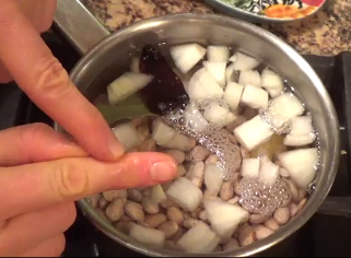 Step Three: Cook Beans