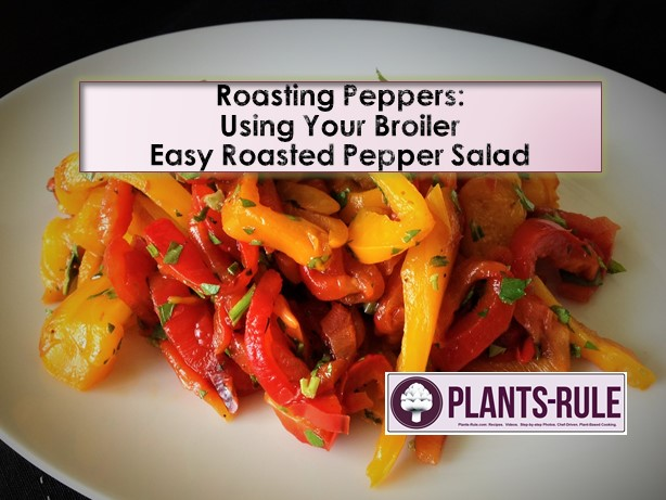 How to Roast Peppers Cooking Video