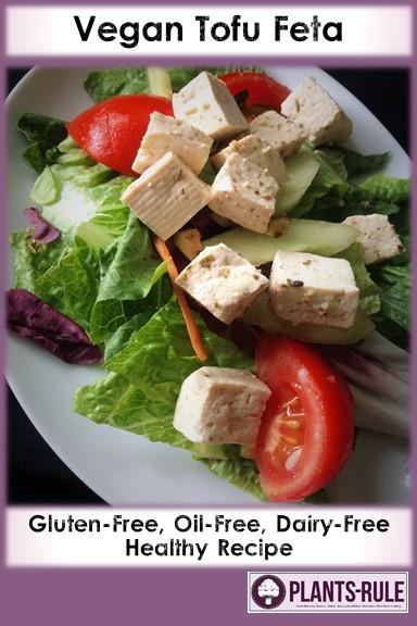 Vegan Tofu Feta