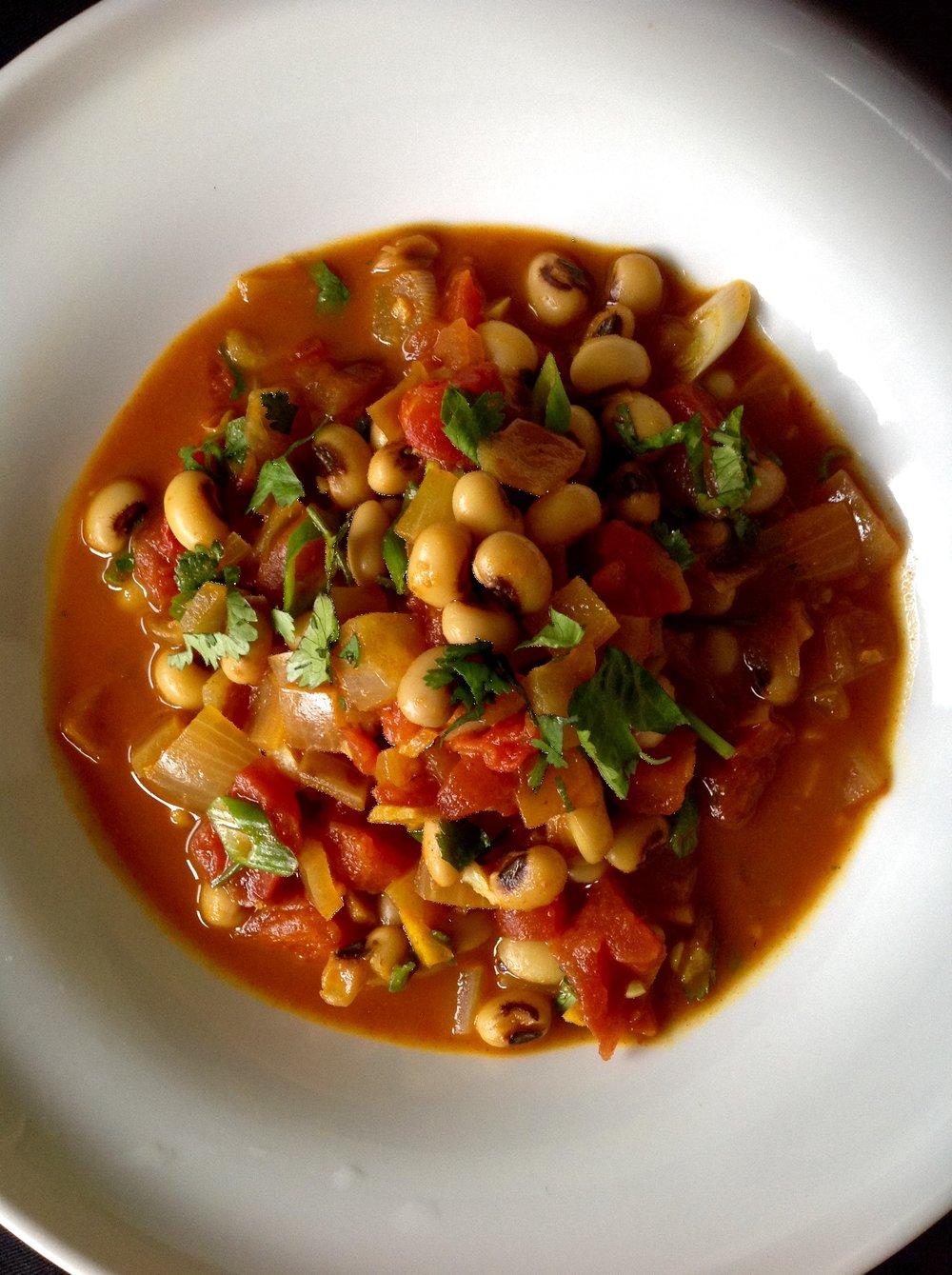 Ethiopian Berbere Black-Eyed Peas - Marcus Samuelsson Healthy, Gluten-Free, Oil-Free, Plant-Based, Vegan