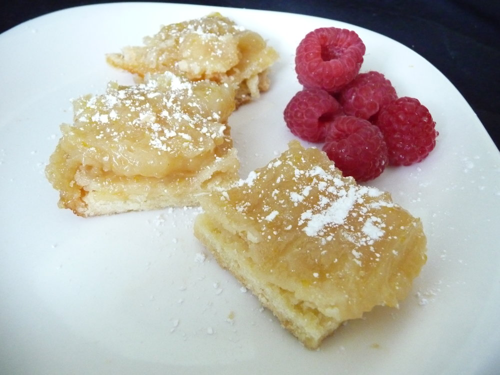 Vegan Lemon Bars - Healthy, Dairy-Free, Egg-Free, Kid-Friendly, Tart, Dessert Treats