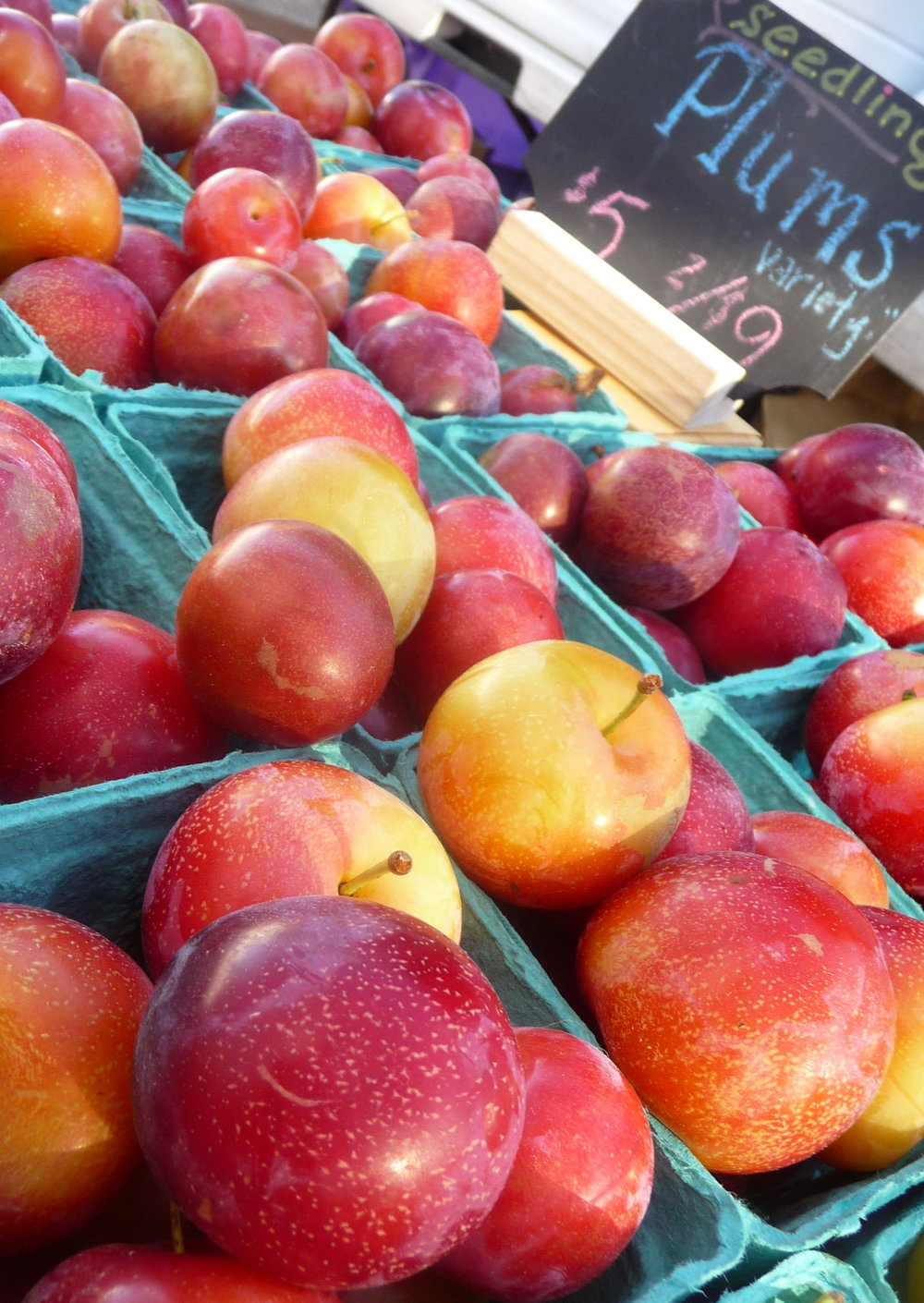 Chef's Tip - Beautiful Red Plums Bring Natural Sweetness and Flavor to this Healthy, Plant-Based Recipe