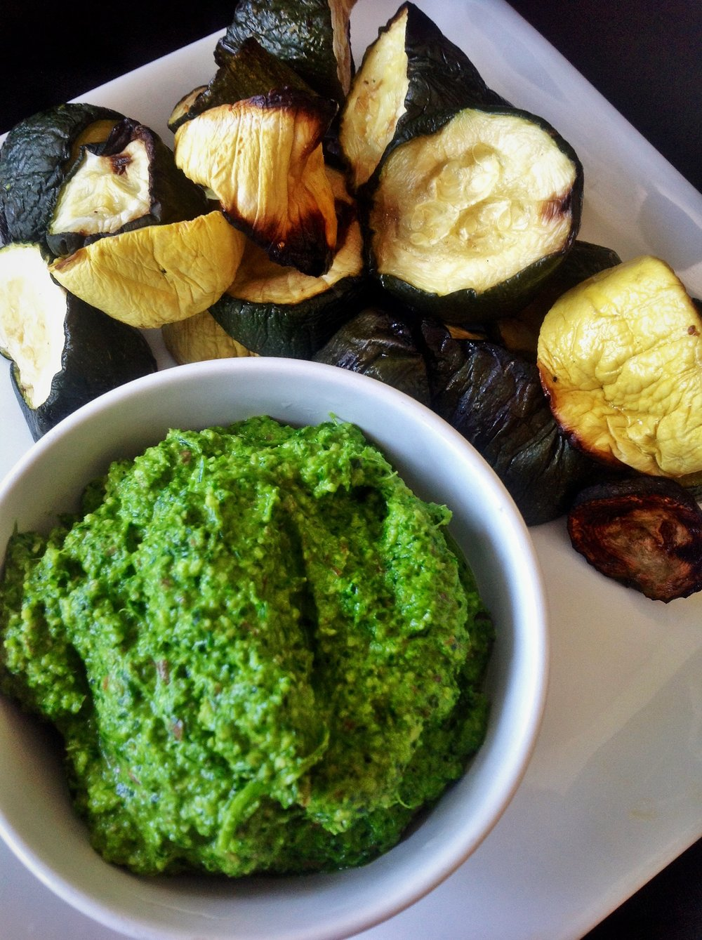 Watercress Parsley Pesto - Healthy, Oil-Free, Gluten-Free, Easy, Plant-Based Vegan Sauce Recipe