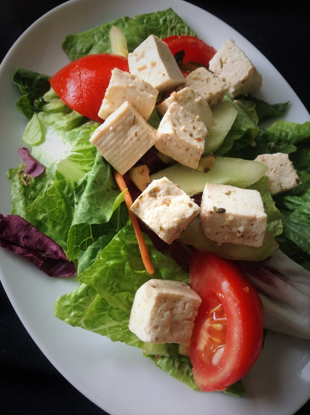 Vegan Tofu Feta - Healthy, Plant-Based, Dairy-Free Cheese Substitute Recipe