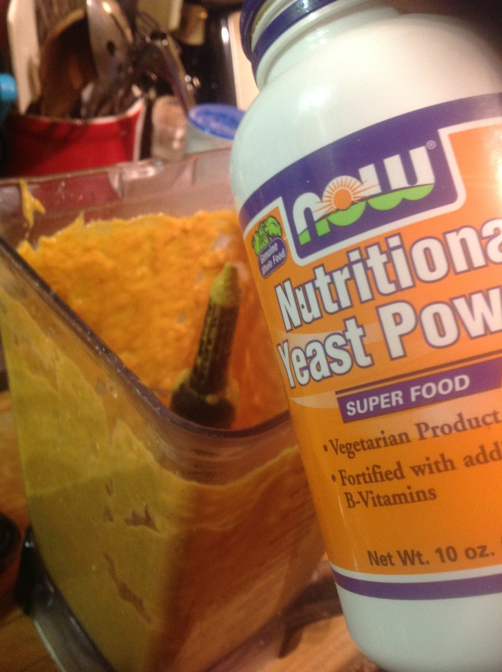 Chef's Plant-based Tip: Nutritional Yeast adds rich, creamy, umami flavor and golden color for a vegan, dairy-free sauce