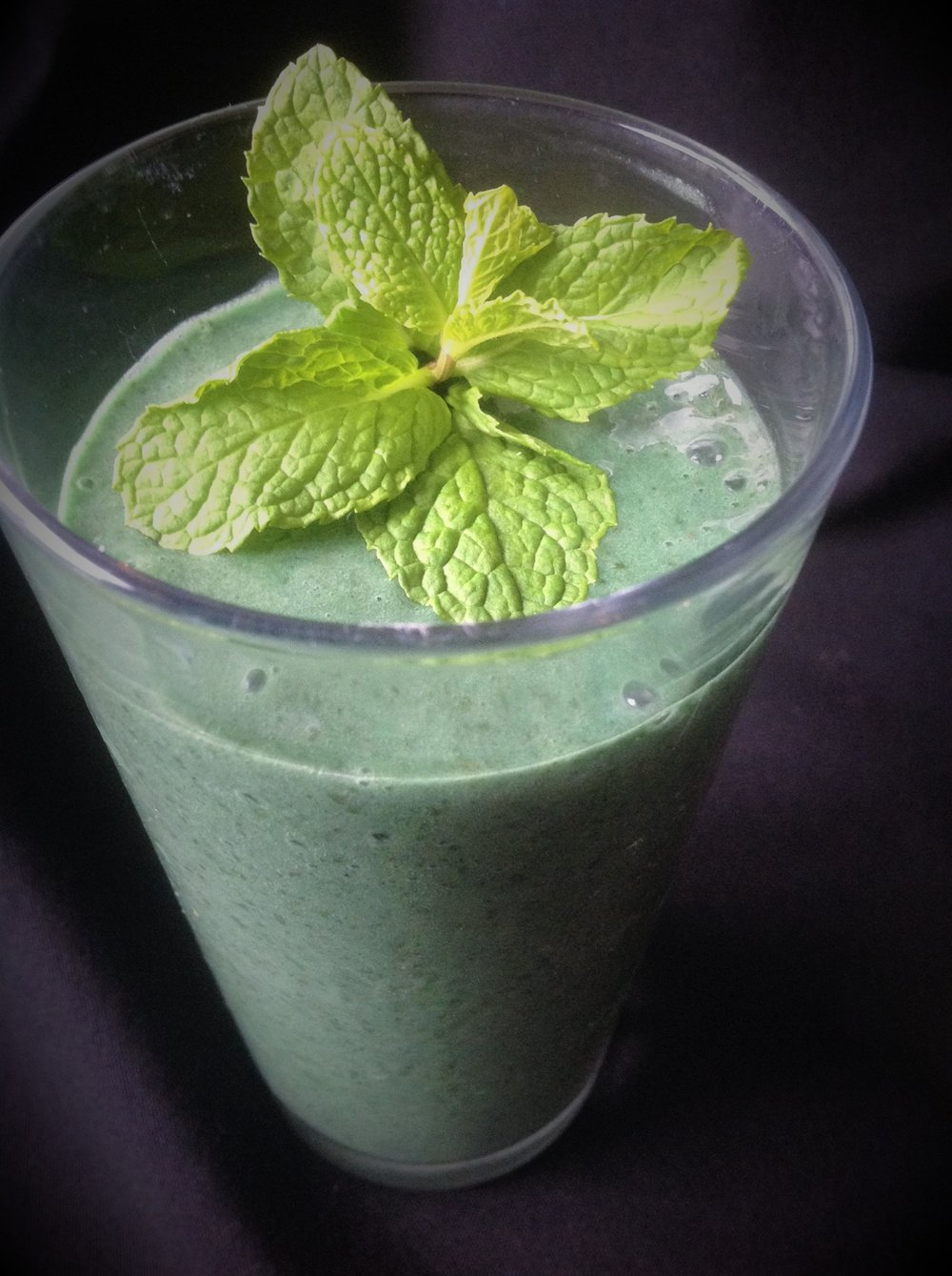 Chef's Tip:  Serve in a chilled glass and garnish with fresh mint for a beautiful, delicious presentation of this dairy-free vegan milkshake