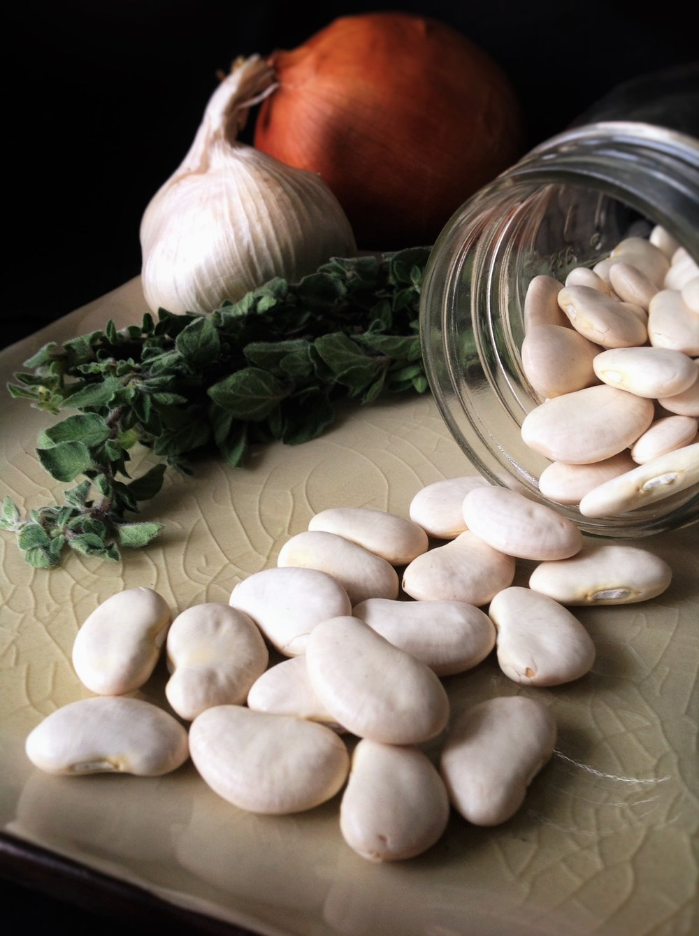 Chef's Plant-Based Tip: Giant Lima Beans, also called Gigantes, are the classic ingredient for this traditional Greek recipe.  They bring hearty plant-based texture and healthy vegan protein