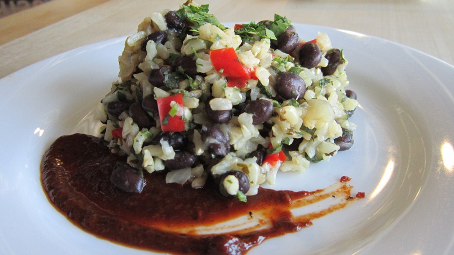 Satisfying Rice and Beans - Delicious, healthy Mexican comfort food
