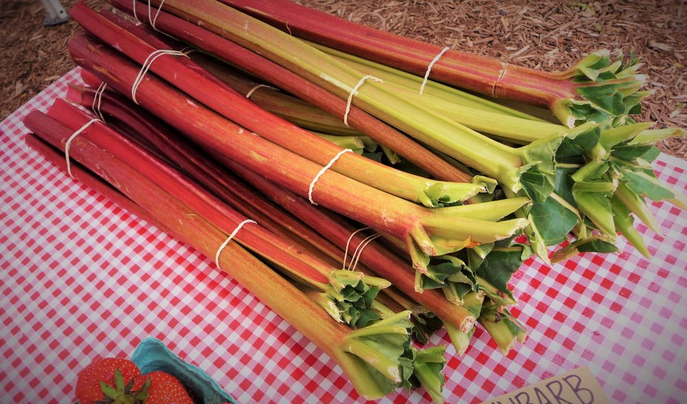 Rhubarb - How to Pick, Store, and CookChoosing Organic, Eating Local, In-SeasonHealthy, Plant-Based, Oil-Free Vegan Recipes
