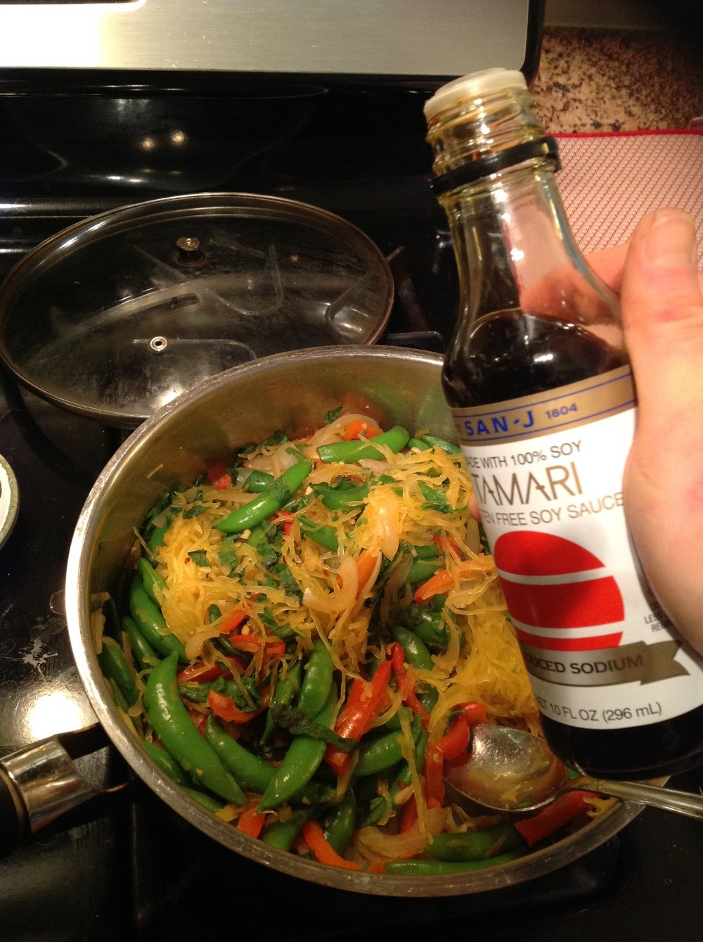 Chef's Gluten-Free Tip:  For a truly gluten-free recipe, be sure to use tamari instead of soy sauce.  Tamari is made without wheat, making it a safe option for Asian Celiac  recipes
