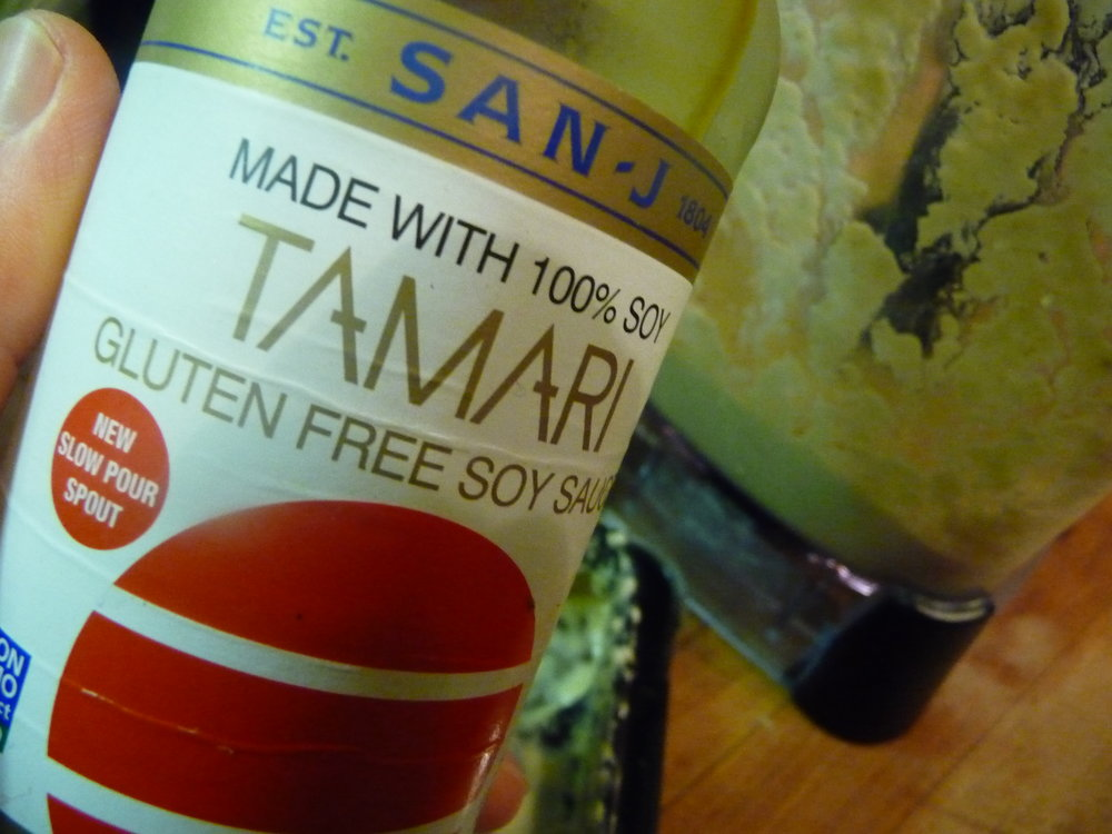 Chef's Gluten-Free Tip: Tamari is a version of soy sauce made without wheat.  For a Celiac-safe gluten-free stir-fry, use Tamari as traditional soy sauce contains gluten