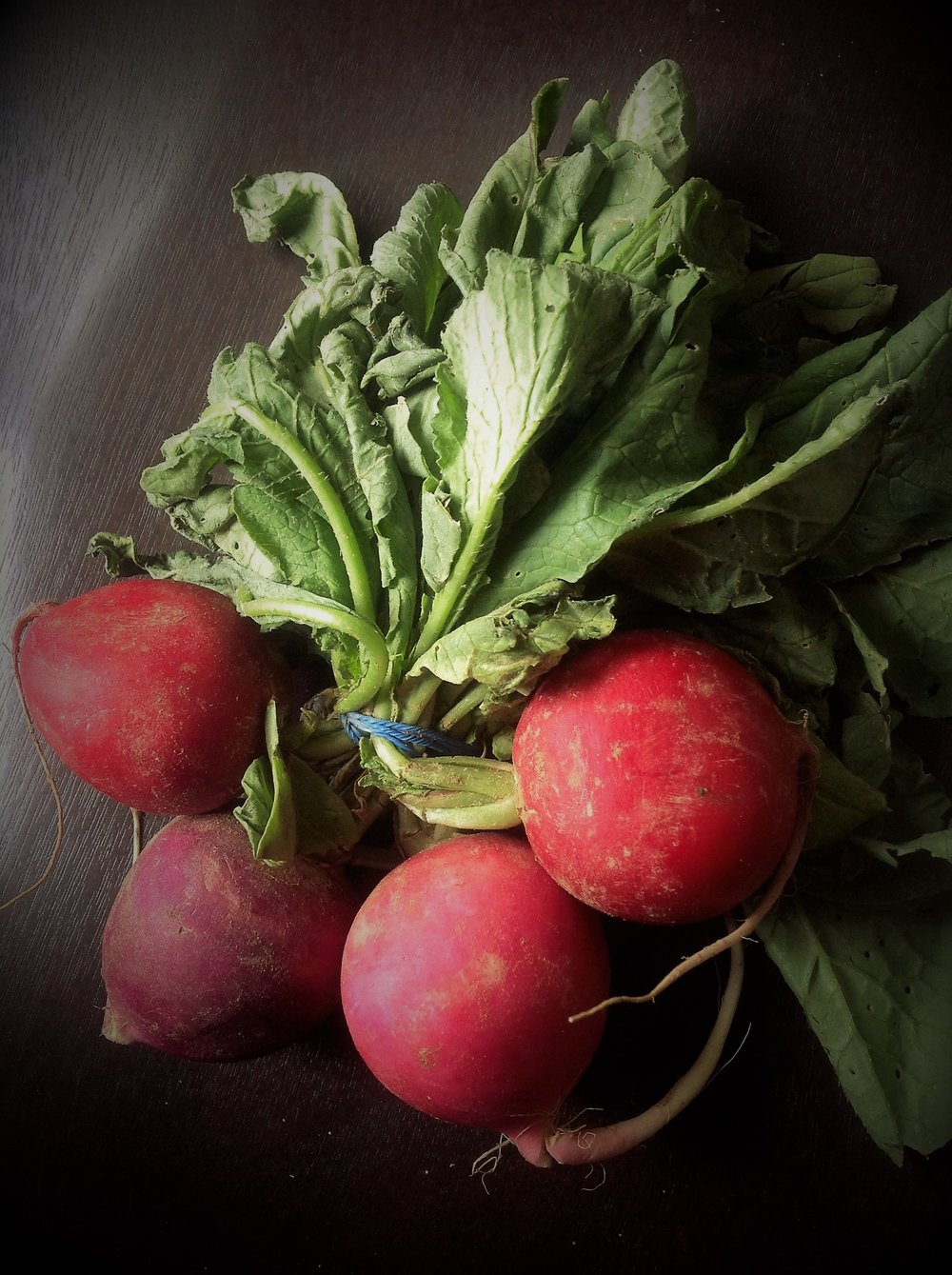 Beautiful Easter Egg radishes offer gorgeous color and a subtle spicy crunch for this healthy, plant-based vegan recipe