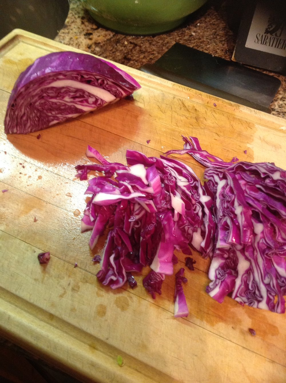Chef's Budget Tip: Besides potatoes, cabbage is the cheapest vegetable. The USDA has found it to have the lowest cost per edible cup .
