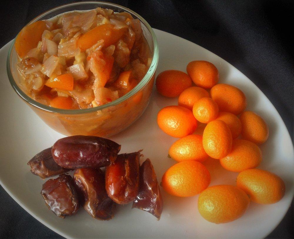 Kumquat Date Chutney