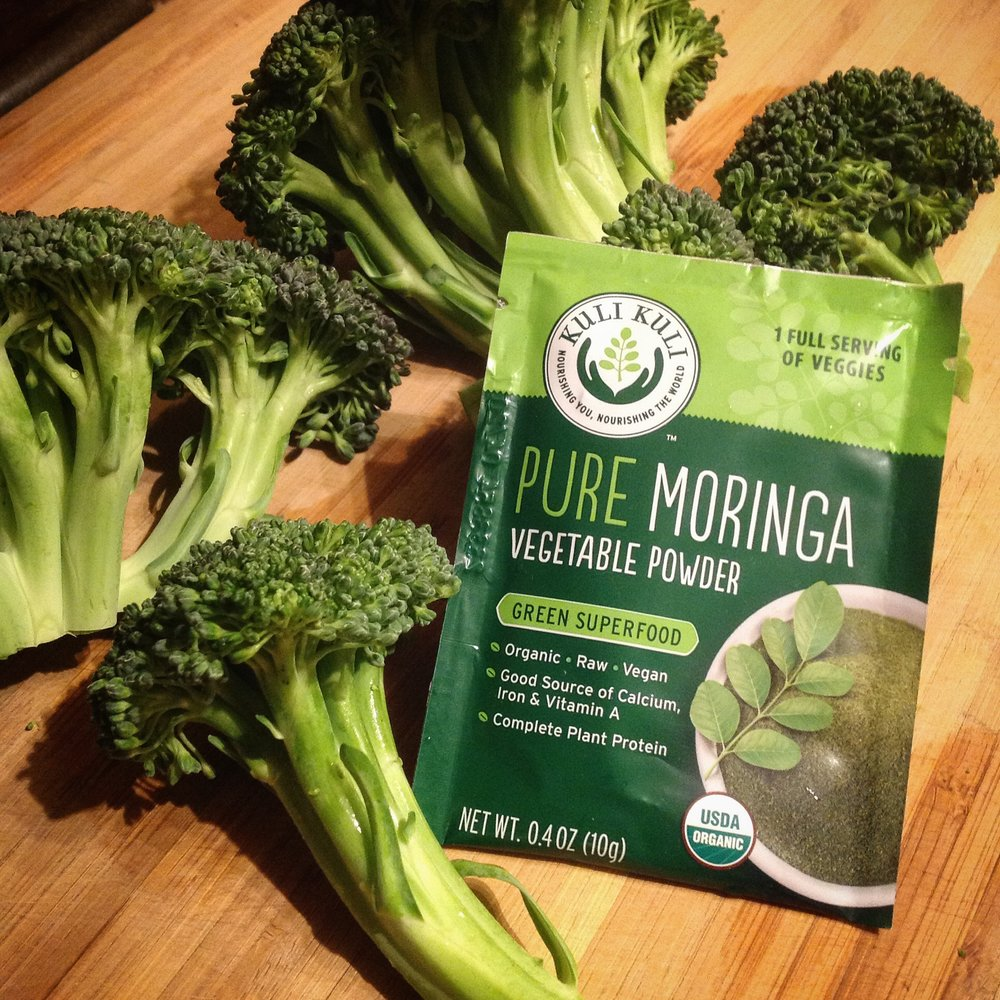 Chef's Tip: Moringa vegetable powder brings even more flavor and nutrition to this healthy recipe. You can omit if you don't have any.