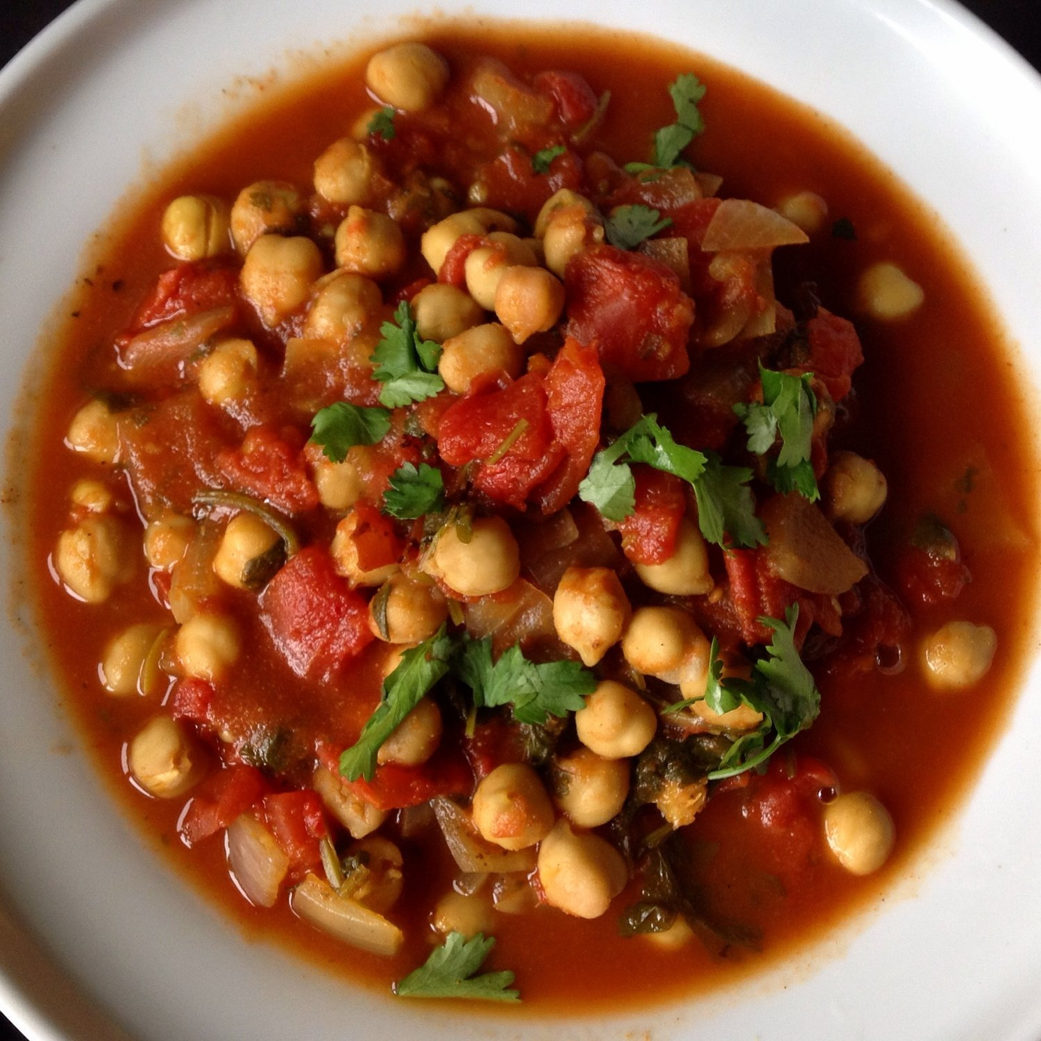 Easy chana masala indian chickpea stew gluten free oil free indian easy chickpea chana masala stew 28g forumfinder Image collections