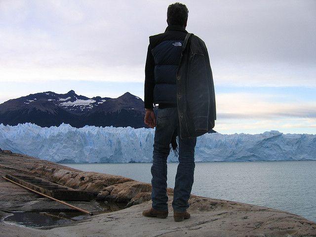 Anthony Bourdain at Argentina's Perito Moreno Glacier