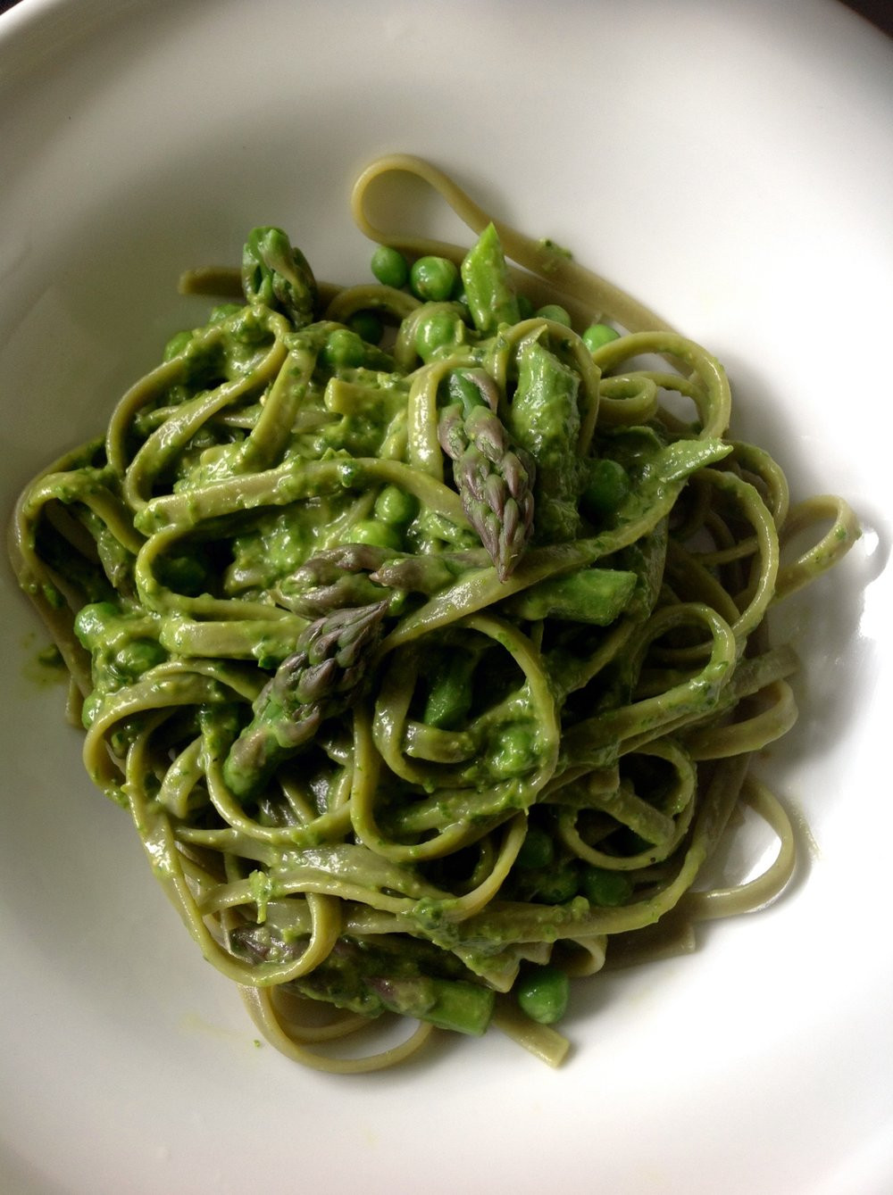 Spring Green Pasta with Chickpea Avocado Pesto.JPG