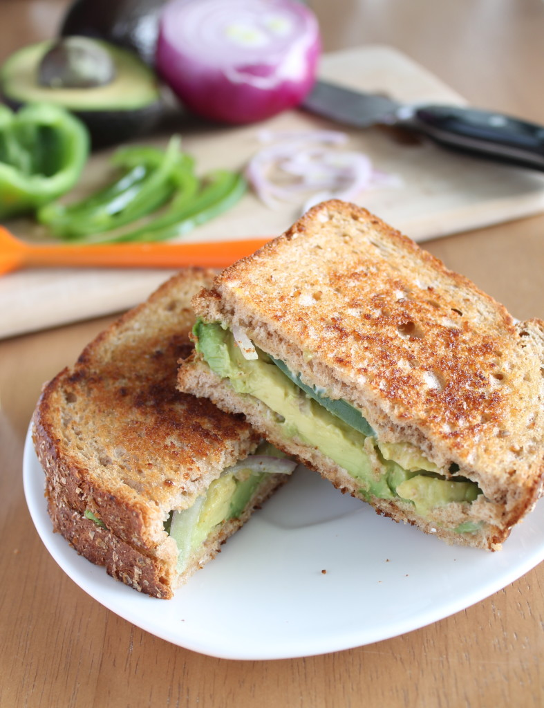 Grilled Avocado Sandwiches - Check out this recipe from Vegan Yumminess. I'm adding it to the list of