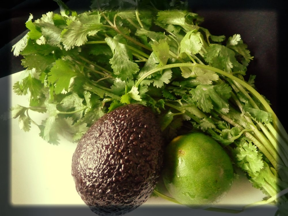 Avocado Lime Cilantro Dressing Ingredients