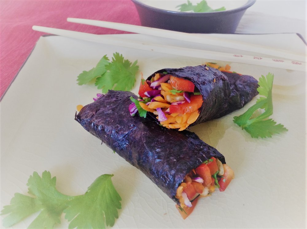 Easy Raw Shredded Veggie Rainbow Nori Rolls (2).jpg