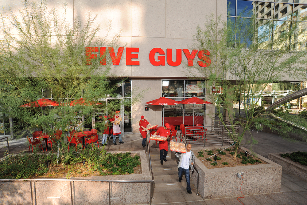 Five Guys Famous Burgers & Fries Multiple Locations, AZ