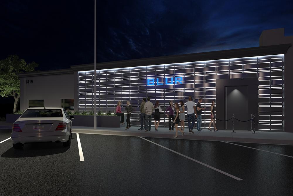 Exterior BLUR rendering