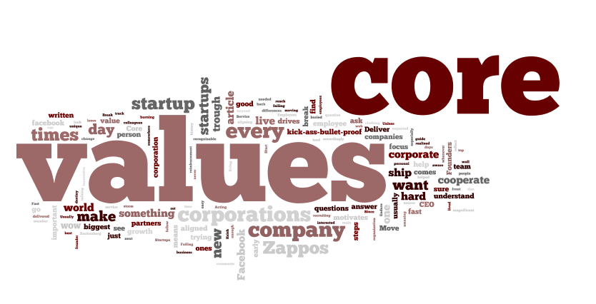 Core values could make or break your startup! +3 steps to kick-ass-bullet-proof core values
