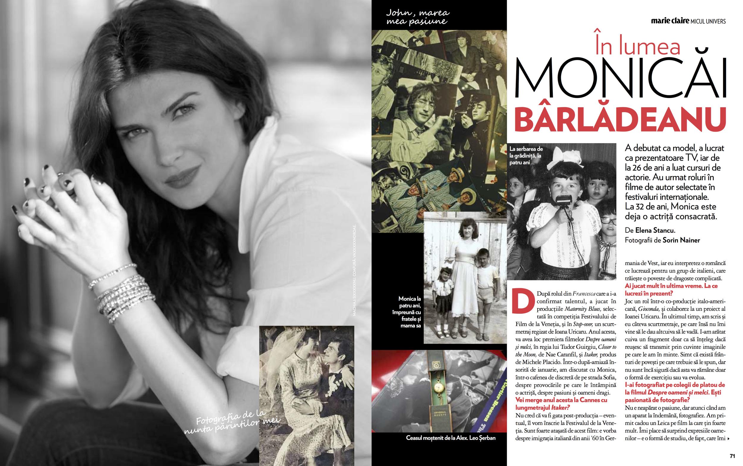 Editorial Monica Barladeanu
