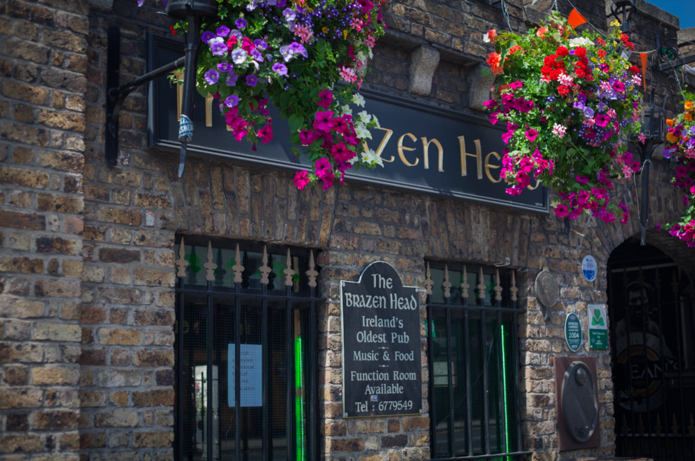 Brazen Head Pub. Touristy. Delicious. Well worth it.
