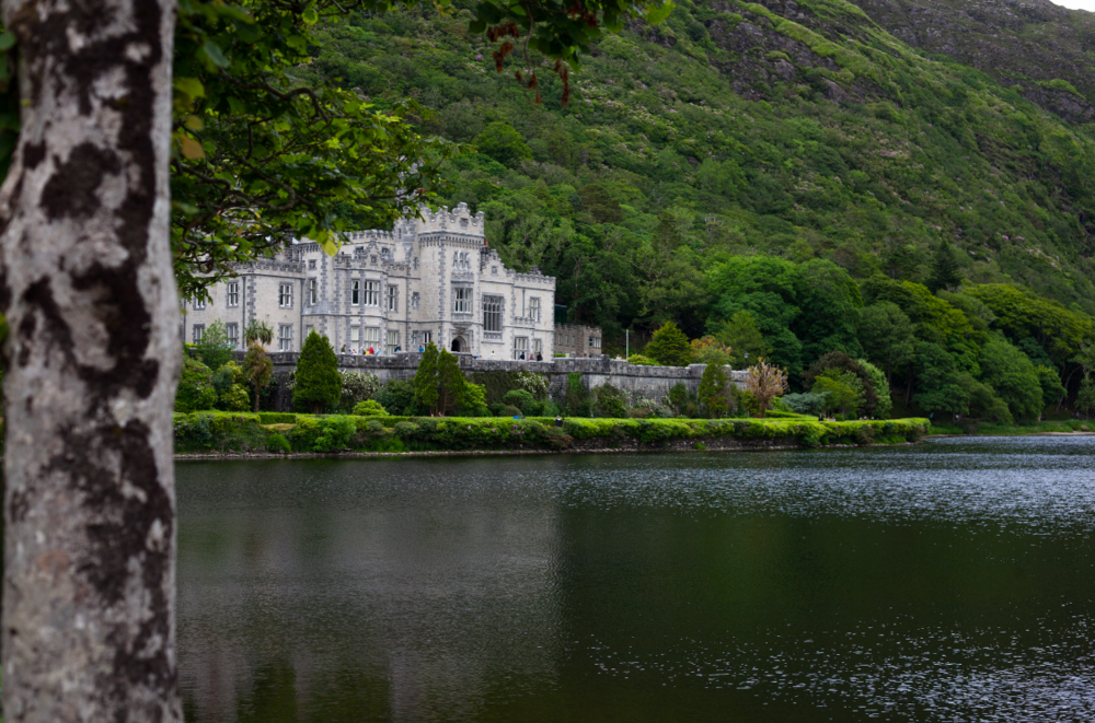 Kylemore Abbey in Connemara. Do NOT miss this hidden gem!