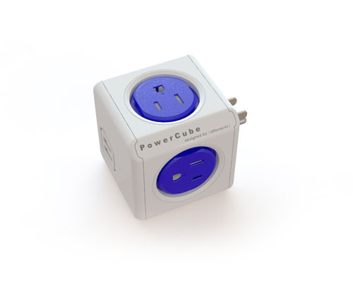 Powercube    The PowerCube Original USB can be used standalone or to expand the PowerCube Extended or Extended USB. In addition to 4 power outlets, the PowerCube Original USB also provides a Dual USB-port.