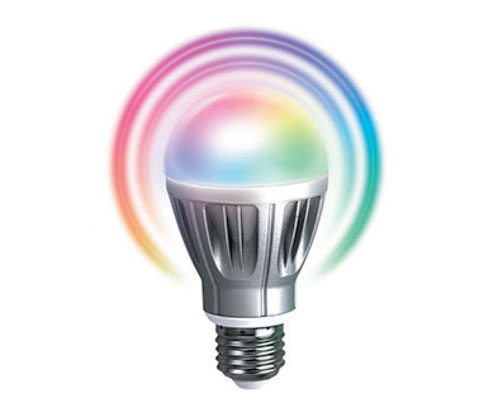 Zipato RGB  Z-Wave LED Lightbulb     By using the Zipato RGBW bulb, customers can control color and intensity of home lights by just using their smartphones. Zipato RGBW bulb will bring the fun into your home environment.