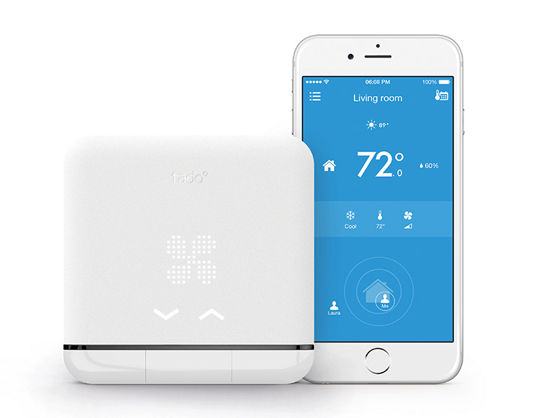 Tado° Smart AC Control: Intelligent AC Control for iOS  Android    Turn your air conditioner into a smart device and experience a new level of comfort and control while saving money and energy.
