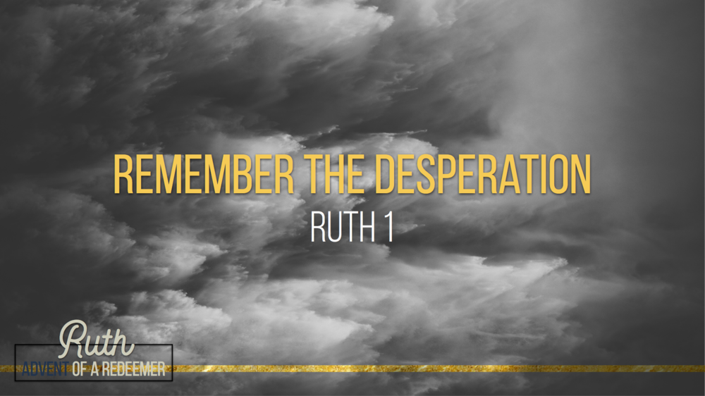 1. Remember the Desperation - Justin Marbury | November 26th, 2017