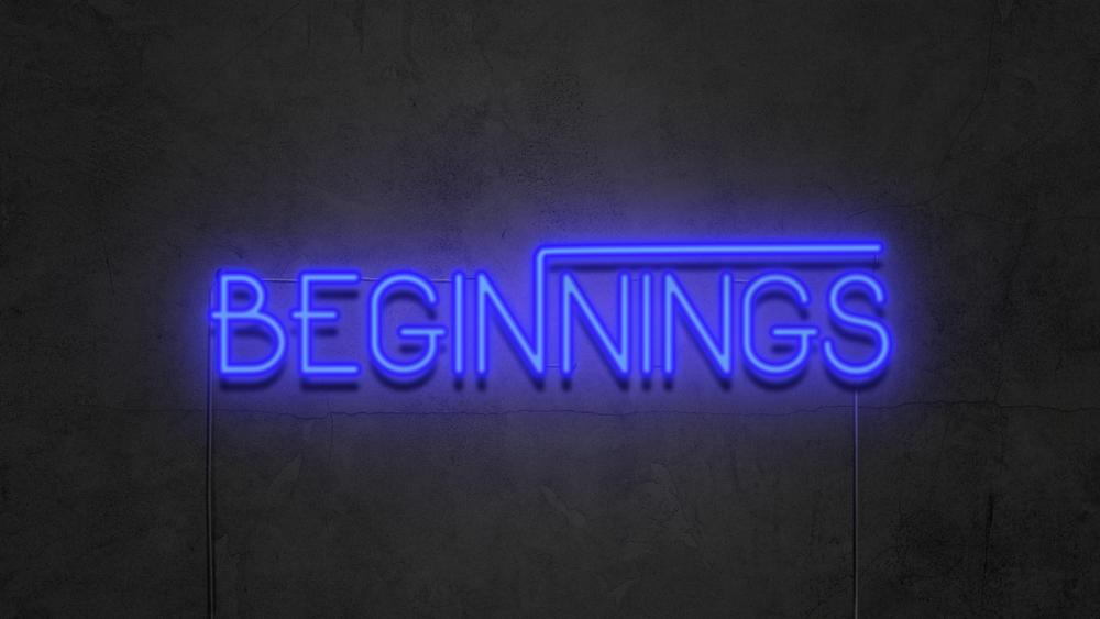Beginnings - Series   4 Messages