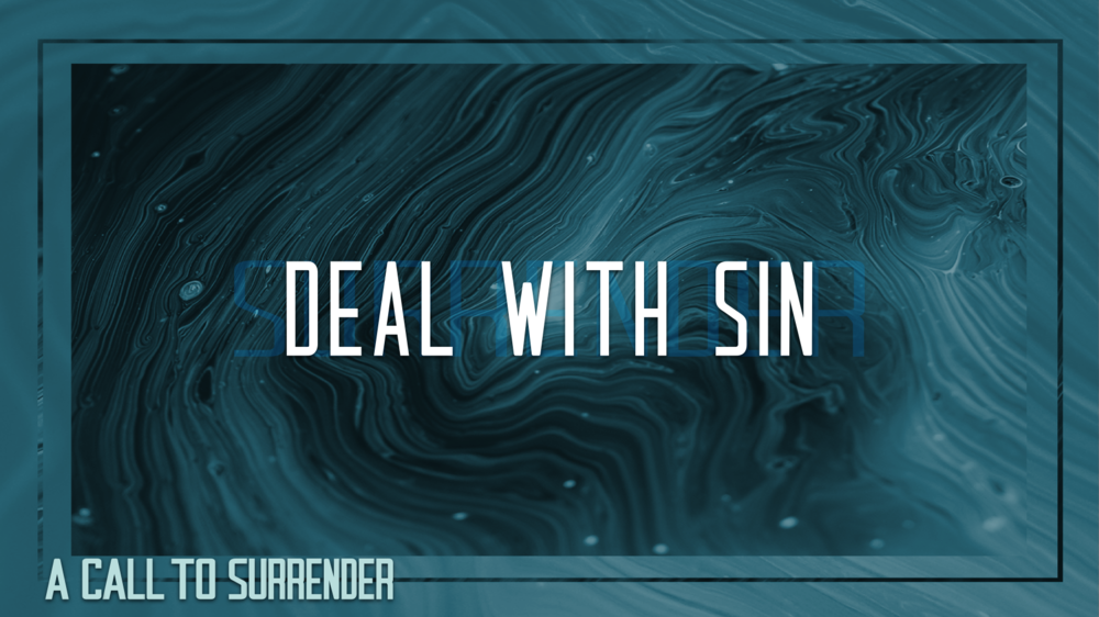 1. Deal With Sin - Justin Marbury | October 28th, 2017